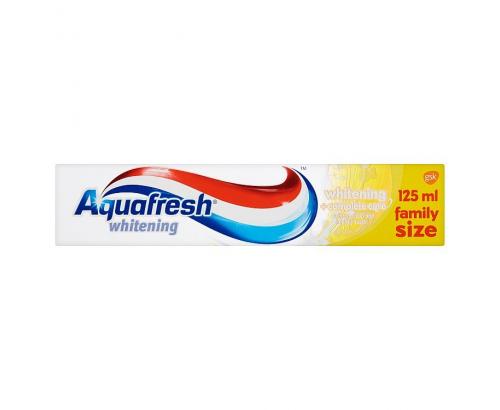 Паста за зъби Аквафреш 75+50мл Къмплийт избелваща