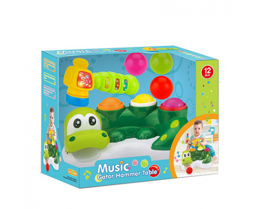 Музикален крокодил с чукче