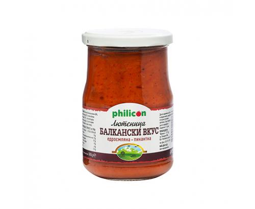 Лютеница Филикон Премиум 580г Балкански вкус