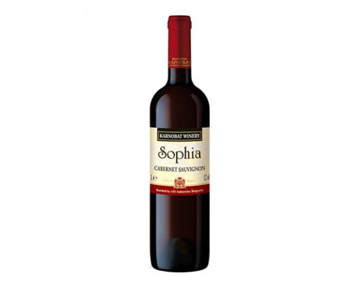 Вино София Карнобат 1,5л Каберне