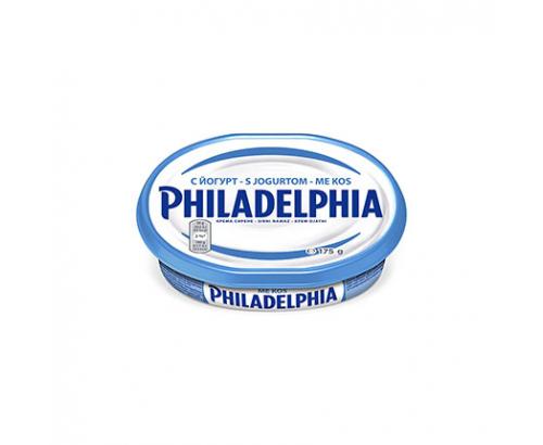 Крема сирене Филаделфия 175г йогурт