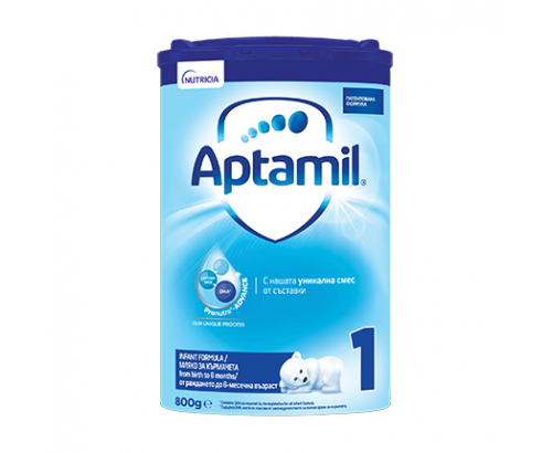 Адаптирано мляко Аптамил Адванс 1 800г