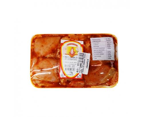 Маринована пилешка пържола от бут Пименс Тарелка ≈600г