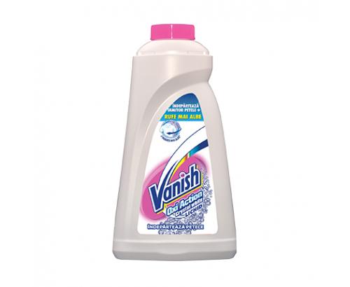 Препарат против петна Вениш 1л Бяло пране