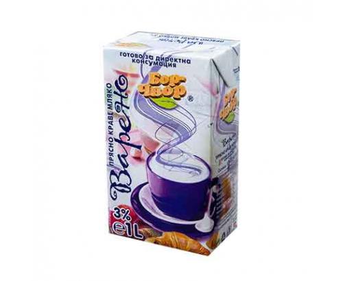 Прясно мляко Бор Чвор 3% 1л