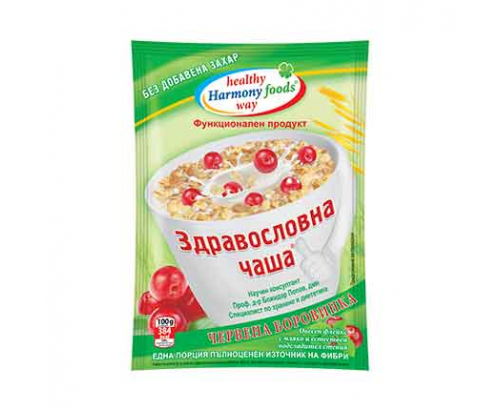 Здравословна Чаша Меркурий 50г Червена Боровинка