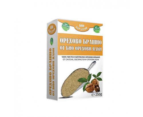 Орехово брашно от био орехови ядки Био Бърдаров 250г