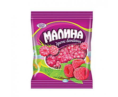 Бонбони Дропс Малина 90г