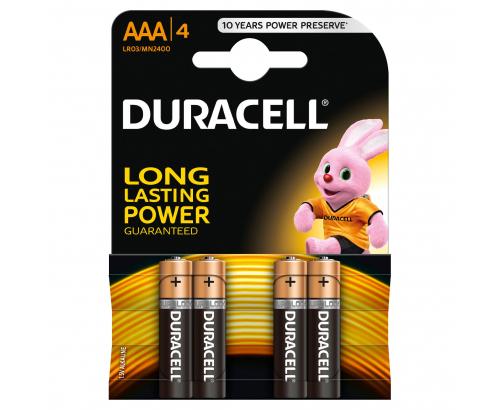 Батерии Дюрасел 4бр ААА MN2400 LR03
