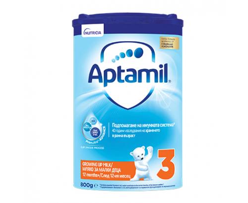 Адаптирано мляко Аптамил Адванс 3 800г