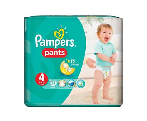 Бебешки пелени Памперс Пантс Макси 24бр