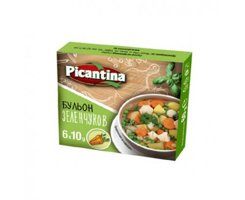 Бульон Пикантина 6бр Зеленчуков