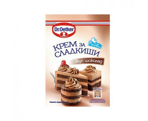 Крем за сладкиши Д-р Йоткер Шоколад