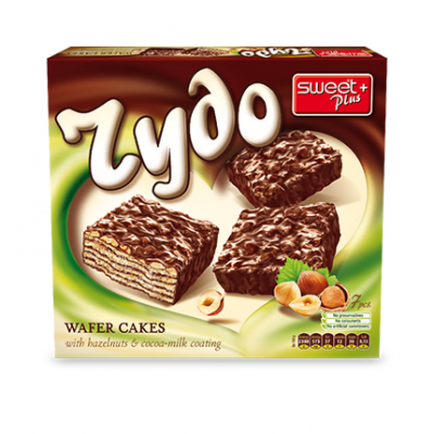 Вафлена торта Чудо 180г Лешник