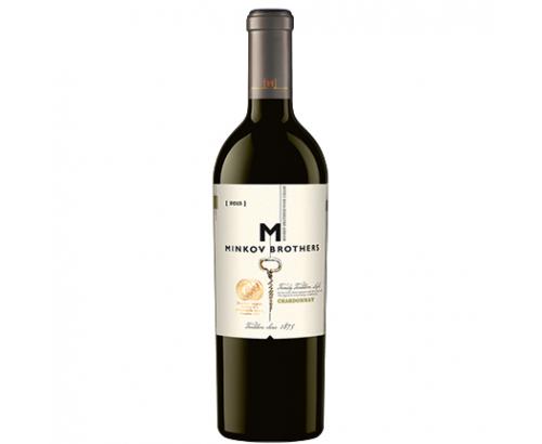 Вино Братя Минкови 750мл Шардоне